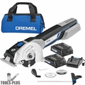 Dremel US20V-02 Cordless Compact Multi-Saw Kit with 2 Batteries