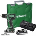 Hitachi DS18DBFL2S 18V Li-Ion Brushless Driver Drill w/3.0ah Battery