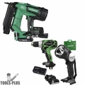 "Hitachi NT1850DE 2"" 18V Brushless Li-Ion 18Ga Brad Nailer w/Drill+Flashlight"