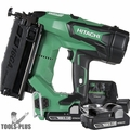 "Hitachi NT1865DM 2-1/2"" 18V Brushless Li-Ion 16G Finish Nailer w/2 3ah Batts"