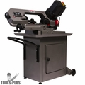 "JET 414558 Variable Speed, Mitering 5"" x 6"" Horizontal Bandsaw, .5HP 115V"