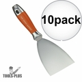 "Kraft Tool DW729PF Putty & Drywall Knife Stainless Steel 4"" 10x"