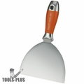 Kraft Tool DW733PF Putty & Drywall Knife Stainless Steel 6""