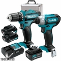 Makita CT226RX 12V Max Li-Ion Cordless 2-Piece 2 + 1 Batteries Combo Kit
