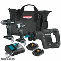 Makita CX300RB 18V LXT Li-Ion Sub-Compact Brushless Cordless 3 Pc. Combo Kit