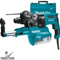 "Makita HR2651 1"" AVT SDS-Plus Rotary Hammer w/ HEPA Dust Extractor"