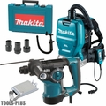 Makita HR2811F 1x 1-1/8 SDS Plus Rotary Hammer Kit w/HEPA Vac/Dust Collector