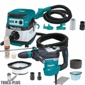 "Makita HR4013C 1-9/16"" SDS-MAX AVT Rotary Hammer w/HEPA Vac+Dust Extraction"