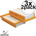 Makita P-79859 2pc Main Flat HEPA Replacement Filter Set for VC4710 3x