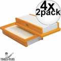 Makita P-79859 2pc Main Flat HEPA Replacement Filter Set for VC4710 4x
