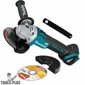"Makita XAG09Z 18V LXT Brushless 4-1/2""-5"" Cut-Off/Angle Grinder (Tool Only)"