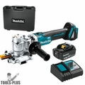 "Makita XCS02T1 18-Volt 1"" 5.0Ah LXT Cordless Steel Rod Flush-Cutter Kit"