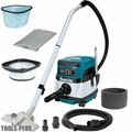 Makita XCV04Z 36V X2 LXT 2.1-Gallon HEPA Filter Dry Dust Vacuum (Tool Only)