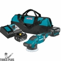 "Makita XOP02T 18V LXT Brushless 5""/ 6"" DA Random Orbit Polisher Kit (5.0Ah)"