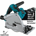 "Makita XPS01Z 36v 18v X2 LXT Brushless 6-1/2"" Plunge Track Saw (Tool Only)"