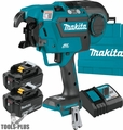 Makita XRT01TK 18V LXT Brushless Cordless Rebar Tying Tool Kit (5.0Ah)