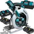 "Makita XSH01PT 18V X2 LXT 36V Cordless 7-1/4"" Circular Saw Kit w/4 Batts"