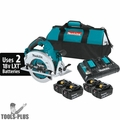 "Makita XSH06PT1 18V X2 LXT Li-Ion Brushless 7-1/4"" Circular Saw Kit (5.0Ah)"