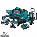 Makita XT704 7 Piece 18 Volt LXT Lithium-Ion Combo Kit