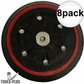 """Metabo 31158 8x 6"""" Replacement Backing Pad"""