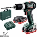 Metabo 601077520 12V PowerMaxx Compact Brushless Hammer Drill 2X 4.0AH LIHD