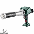 Metabo 601217850 12V Cordless Caulking Gun for 400mL Tube (Tool Only)