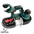 "Metabo 613022850 18V 2.5"" Portable Metal Bandsaw Bare (Tool Only)"