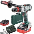 Metabo SB 18 LTX-3 BL Q I 3-Speed Impact Drill Driver Kit 2x 5.5Ah Batteries