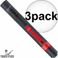 Milwaukee 2105 100-Lumen Impact Resistant Aluminum Pen Light Pocket Clip 3x