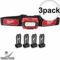 Milwaukee 2106 Compact 300 Lumens TRUEVIEW High Definition Headlamp 3x