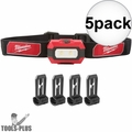 Milwaukee 2106 Compact 300 Lumens TRUEVIEW High Definition Headlamp 5x
