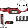 Milwaukee 2111-21 475 Lumens USB Rechargeable TRUEVIEW HD Headlamp 12x