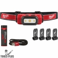 Milwaukee 2111-21 475 Lumens USB Rechargeable TRUEVIEW HD Headlamp