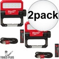 Milwaukee 2114-21 USB Rechargable ROVER Pivoting Flood Light 2x