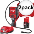 Milwaukee 2315-21 M12 M-Spector Flex 3' Inspection Camera+Battery+Charger 2x