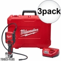 Milwaukee 2315-21 M12 M-Spector Flex 3' Inspection Camera w/Batt+Charger 3x