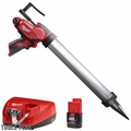 Milwaukee 2442-21 M12 Cordless 20oz. Caulk and Adhesive Gun Kit