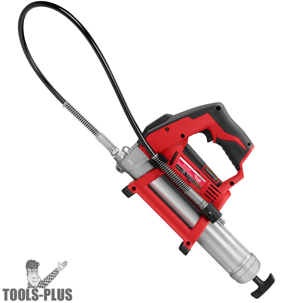 Milwaukee M12 12 Volt Lithium Ion Cordless Grease Gun Kit W Battery And Charger
