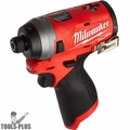 """Milwaukee 2453-80 M12 FUEL Lithium-Ion 1/4"""" Hex Impact Driver (Tool Only)"""