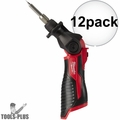 Milwaukee 2488-20 M12 Cordless Soldering Iron (Tool Only) 12x