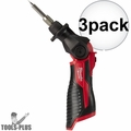 Milwaukee 2488-20 M12 Cordless Soldering Iron (Tool Only) 3x