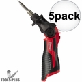 Milwaukee 2488-20 M12 Cordless Soldering Iron (Tool Only) 5x