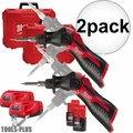 Milwaukee 2488-21 M12 Cordless Soldering Iron Kit 2x