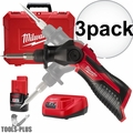 Milwaukee 2488-21 M12 Cordless Soldering Iron Kit 3x