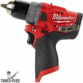 """Milwaukee 2504-80 M12 FUEL 1/2"""" Hammer Drill (Tool Only)"""