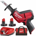 Milwaukee 2520-21XC M12 FUEL HACKZALL Recip Saw 4.0 Ah Kit + 6.0 Ah Battery