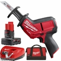 Milwaukee 2520-21XC M12 FUEL HACKZALL Recip Saw w/ 4.0Ah Battery + Charger