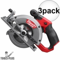 "Milwaukee 2530-20 M12 FUEL 5-3/8"" Circular Saw (Bare Tool) 3x"