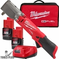 """Milwaukee 2564-22 M12 FUEL 3/8"""" Right Angle Impact Wrench Kit"""