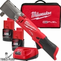 """Milwaukee 2565P-22 M12 FUEL 1/2"""" Right Angle Impact Wrench w/Pin Detent"""
